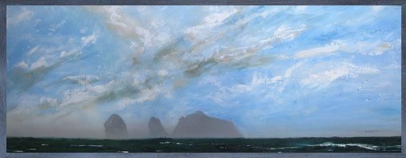 'Morning Mist on Boreray'