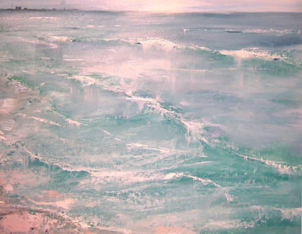 Summer Sea Reflections