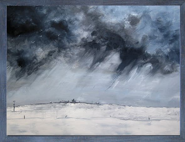 'Snow Over Lopness'