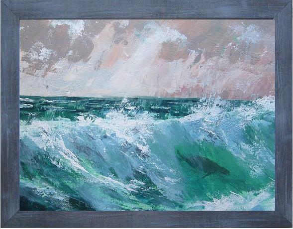 'Surfing Selkie'