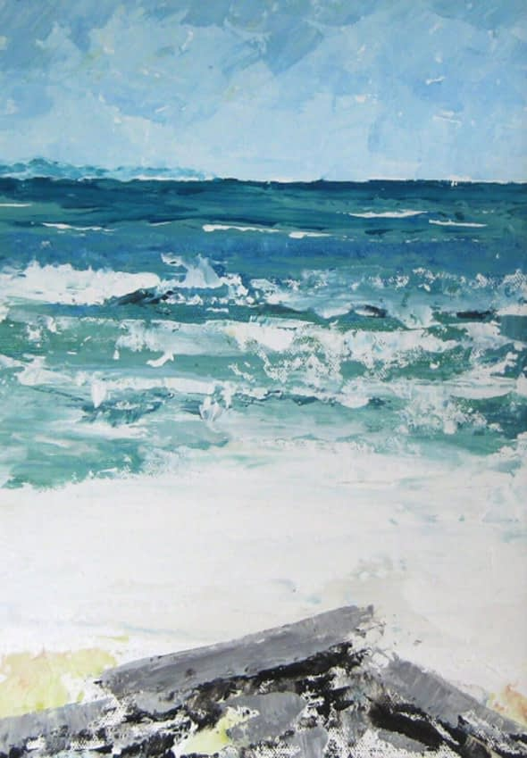 Beach at Port Vendres
