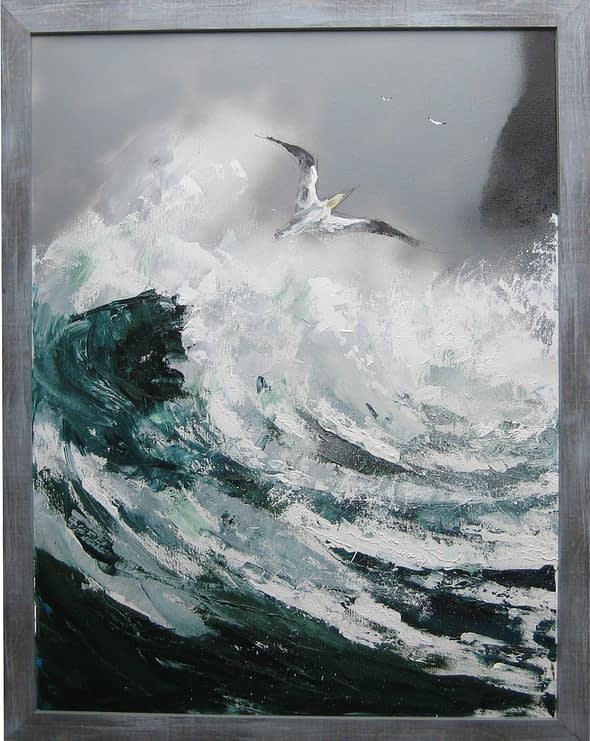 'Fishing in Heavy Weather'