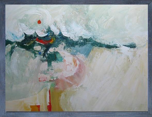 'Orange Sun, Beached Whale'