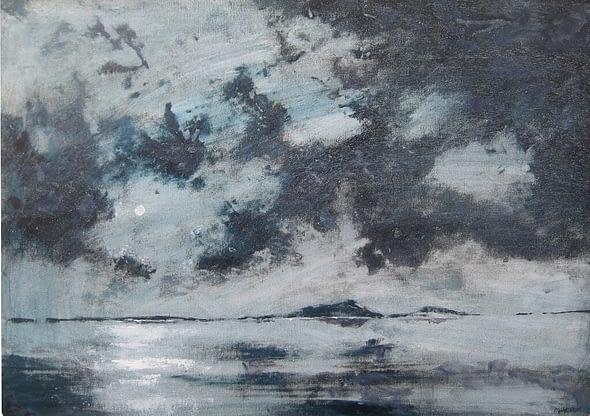 Moonrise Over Cata Sands