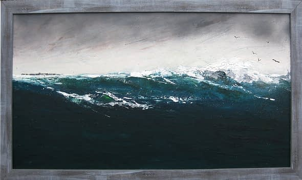 'Shearwaters Passing Tresness'