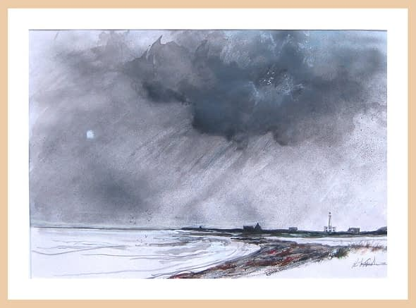 'Sketch for Autumn Turns to Winter'