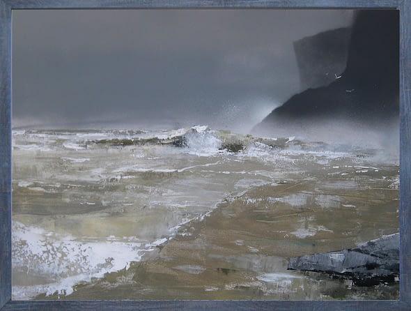 'Orkney Beach Winter'